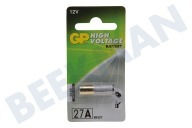 GP 10027AC1 A27  Pila High Voltage 12V MN27 27A alcalina