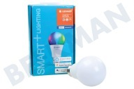 Osram 4058075208469  Smart + Lámpara estándar E27 Regulable Multicolor E27 10 vatios, 800lm Multicolor