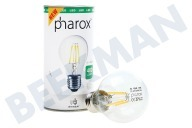 Pharox 106011  Lámpara LED Lámpara Estándar A60 LED Nublado 400 230V 4W E27 2700K 400lm
