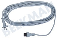 Nilfisk 990807080  Cable Enchufe recto de 9,5 metros GS 80-90