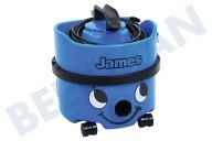 Numatic 909821 JVH-187  Aspiradora Incluye Kit NA1, 620W 10M James Sky Blue, JVH-187-1