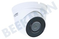 Hiwatch 311303374  HWI-T240H HiWatch Turret Outdoor Camera 4 Megapixel 4MP, POE, H.265 +