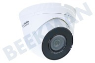 Hikvision 311303375  HWI-T220H HiWatch Turret Outdoor Camera 2 Megapixel 2MP, POE, H.265 +