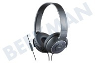 JVC HASR225BE HA-SR225-B Superiour Sonido  Auriculares ligeros iPhone, iPad, Android y BlackBerry