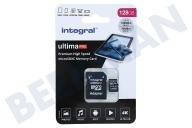Integral INMSDX128G-100/90V30  UltimaPro High Speed Micro SDXC Class 10 128GB Tarjeta Micro SDHC de 128 GB