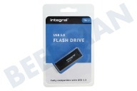 Integral INFD16GBBLK3.0  Memory stick 16 GB USB Flash Drive Negro USB 3.0