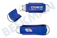 Integral INFD16GBCOU3.0  Memory stick Integral 16GB Courier USB 3.0