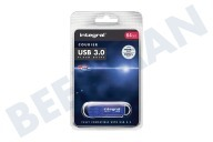 Integral  INFD64GBCOU3.0 Courier USB 3.0 Flash Drive Memory Stick USB 3.0