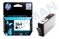 HP Hewlett-Packard HP-CB316EE HP 364 Black  Cartucho de tinta No. 364 Negro Photosmart C5380, C6380