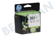 HP Hewlett-Packard 1593427 HP 301 Xl Color  Cartucho de tinta No. 301 XL Color Deskjet 1050.2050