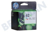 HP Hewlett-Packard HP-C2P07AE Hp 62 XL Color  Cartucho de tinta No. 62 XL Color Officejet 5740, 5640 Envidia, 7640