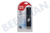 One For All URC7130  URC 7130 Esencia 3 a distancia universal TV, LCD, plasma, satélite, cable, TDT, DVD, Blu Ray