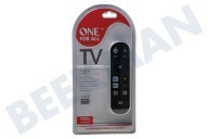 One For All URC6810  URC 6810 Remoto universal básica Zapper TV, LCD, PLASMA, STB